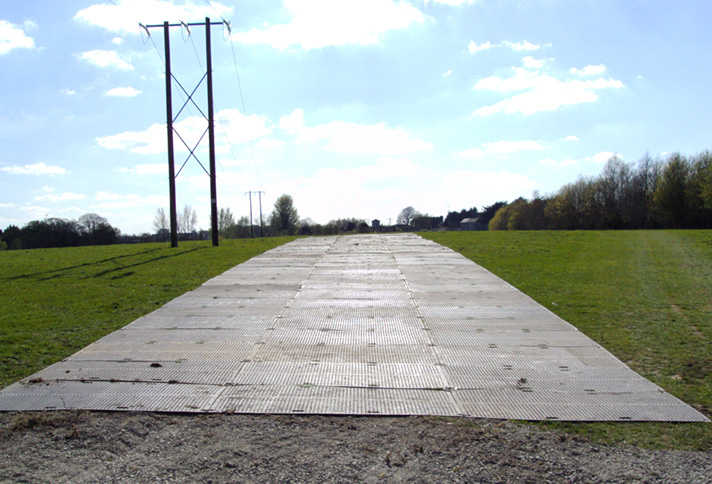 Ire Mat Temporary Road For Vehicle Access Ire Trak