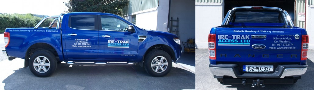IRE-TRAK Ford Ranger Jeep
